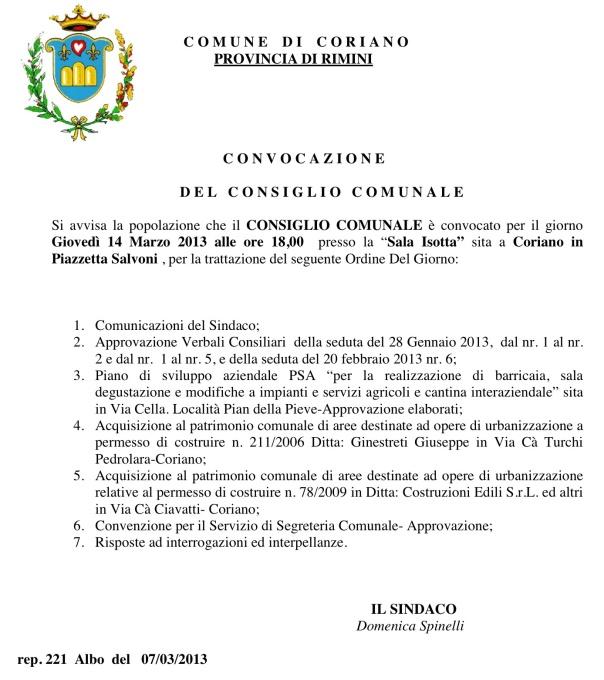 CC del 14 03 2013
