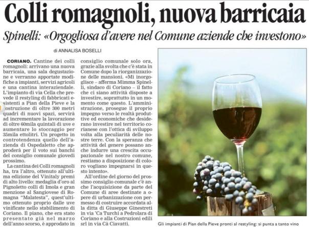 Corriere del 12 03 2013