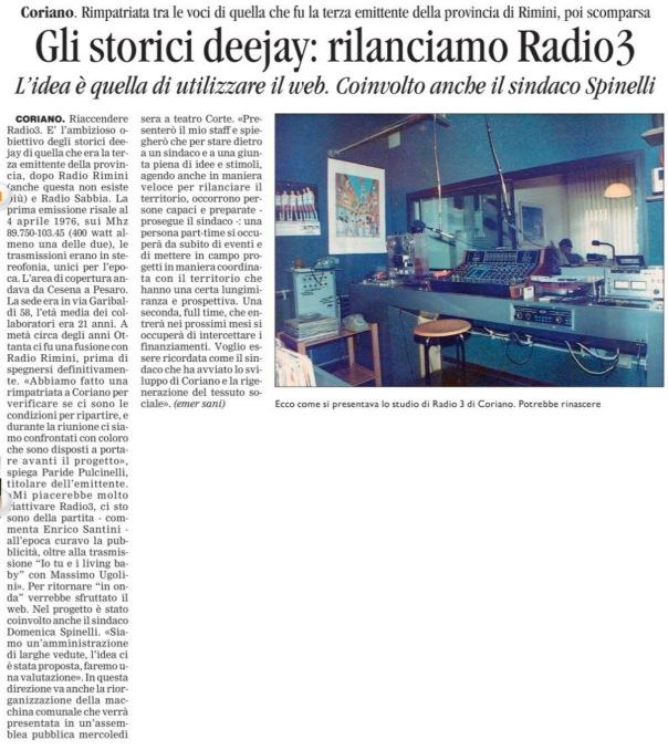 Corriere di Rimini del 10 03 2013