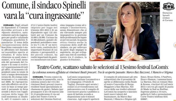 Corriere di Rimini del 14 03 2013
