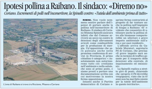 Corriere Romagna del 16 03 2013